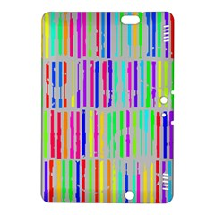 Colorful Vintage Stripes	kindle Fire Hdx 8 9  Hardshell Case