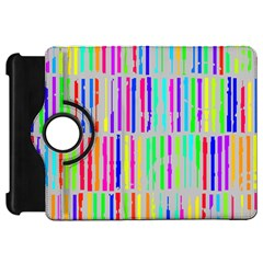 Colorful vintage stripes	Kindle Fire HD Flip 360 Case