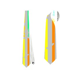 Colorful Vintage Stripes Necktie