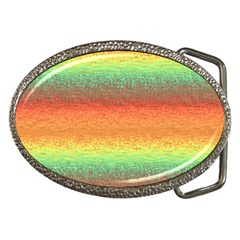 Gradient chaos Belt Buckle