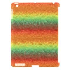 Gradient chaos Apple iPad 3/4 Hardshell Case (Compatible with Smart Cover)