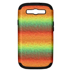 Gradient chaos Samsung Galaxy S III Hardshell Case (PC+Silicone)
