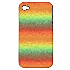 Gradient chaos Apple iPhone 4/4S Hardshell Case (PC+Silicone)