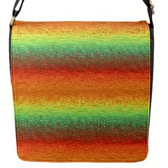 Gradient Chaos Flap Closure Messenger Bag (s)