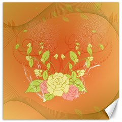 Beautiful Flowers In Soft Colors Canvas 12  x 12