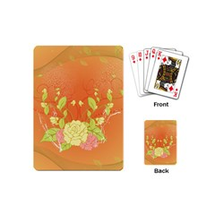 Beautiful Flowers In Soft Colors Playing Cards (mini)