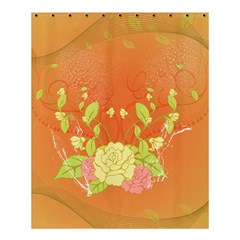 Beautiful Flowers In Soft Colors Shower Curtain 60  x 72  (Medium)