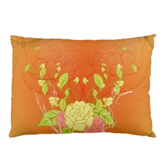 Beautiful Flowers In Soft Colors Pillow Cases (Two Sides)
