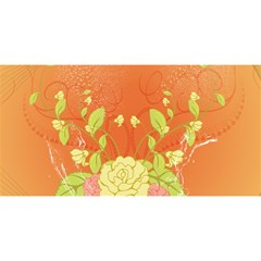Beautiful Flowers In Soft Colors YOU ARE INVITED 3D Greeting Card (8x4)