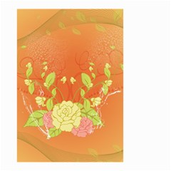 Beautiful Flowers In Soft Colors Small Garden Flag (two Sides)