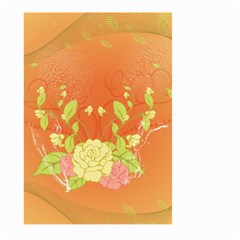 Beautiful Flowers In Soft Colors Large Garden Flag (Two Sides)