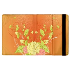 Beautiful Flowers In Soft Colors Apple iPad 3/4 Flip Case
