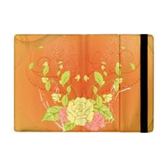 Beautiful Flowers In Soft Colors Apple iPad Mini Flip Case