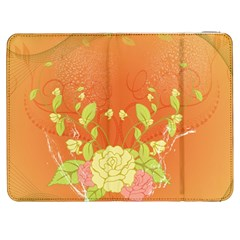 Beautiful Flowers In Soft Colors Samsung Galaxy Tab 7  P1000 Flip Case