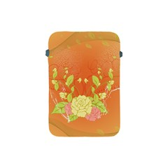 Beautiful Flowers In Soft Colors Apple iPad Mini Protective Soft Cases