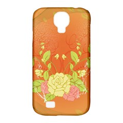 Beautiful Flowers In Soft Colors Samsung Galaxy S4 Classic Hardshell Case (PC+Silicone)
