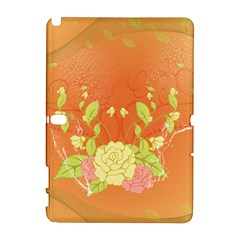 Beautiful Flowers In Soft Colors Samsung Galaxy Note 10 1 (p600) Hardshell Case