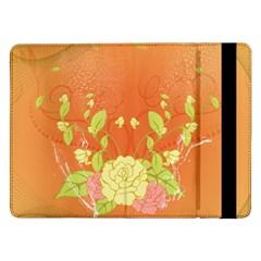 Beautiful Flowers In Soft Colors Samsung Galaxy Tab Pro 12.2  Flip Case