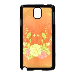 Beautiful Flowers In Soft Colors Samsung Galaxy Note 3 Neo Hardshell Case (Black)