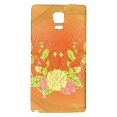 Beautiful Flowers In Soft Colors Galaxy Note 4 Back Case