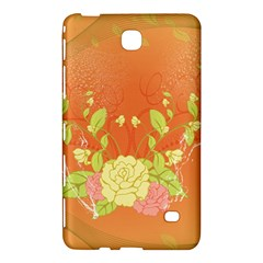 Beautiful Flowers In Soft Colors Samsung Galaxy Tab 4 (8 ) Hardshell Case
