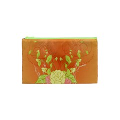 Beautiful Flowers In Soft Colors Cosmetic Bag (XS)