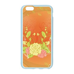 Beautiful Flowers In Soft Colors Apple Seamless iPhone 6/6S Case (Color)