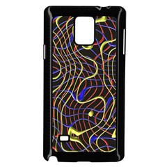 Ribbon Chaos 2 Black  Samsung Galaxy Note 4 Case (black)