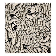 Ribbon Chaos 2  Shower Curtain 66  X 72  (large)