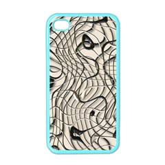 Ribbon Chaos 2  Apple iPhone 4 Case (Color)