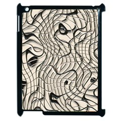 Ribbon Chaos 2  Apple iPad 2 Case (Black)