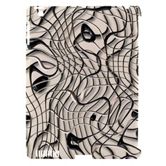 Ribbon Chaos 2  Apple iPad 3/4 Hardshell Case (Compatible with Smart Cover)
