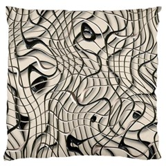 Ribbon Chaos 2  Large Cushion Cases (Two Sides)