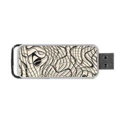 Ribbon Chaos 2  Portable USB Flash (Two Sides)