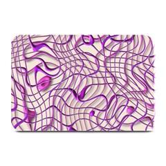 Ribbon Chaos 2 Lilac Plate Mats