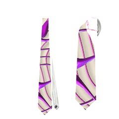 Ribbon Chaos 2 Lilac Neckties (Two Side)