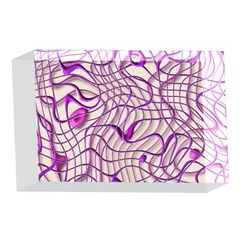 Ribbon Chaos 2 Lilac 4 x 6  Acrylic Photo Blocks