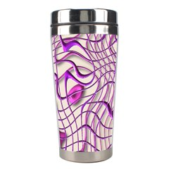 Ribbon Chaos 2 Lilac Stainless Steel Travel Tumblers