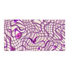 Ribbon Chaos 2 Lilac Satin Wrap