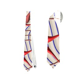 Ribbon Chaos 2 Red Blue Neckties (One Side)