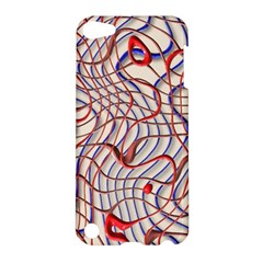 Ribbon Chaos 2 Red Blue Apple iPod Touch 5 Hardshell Case
