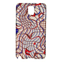 Ribbon Chaos 2 Red Blue Samsung Galaxy Note 3 N9005 Hardshell Case