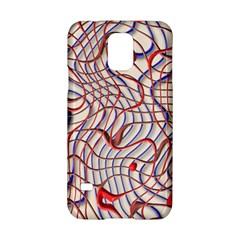 Ribbon Chaos 2 Red Blue Samsung Galaxy S5 Hardshell Case