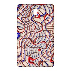 Ribbon Chaos 2 Red Blue Samsung Galaxy Tab S (8 4 ) Hardshell Case