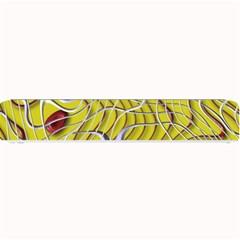Ribbon Chaos 2 Yellow Small Bar Mats