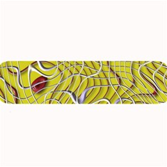 Ribbon Chaos 2 Yellow Large Bar Mats