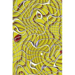 Ribbon Chaos 2 Yellow 5.5  x 8.5  Notebooks