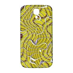 Ribbon Chaos 2 Yellow Samsung Galaxy S4 I9500/I9505  Hardshell Back Case