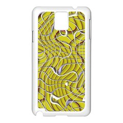 Ribbon Chaos 2 Yellow Samsung Galaxy Note 3 N9005 Case (white)