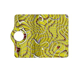 Ribbon Chaos 2 Yellow Kindle Fire Hd (2013) Flip 360 Case